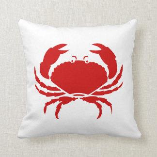 Red crab pillow cushion