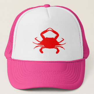 Red Crab Trucker Hat