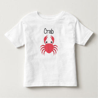 Red Crabby Crab Toddler T-shirt