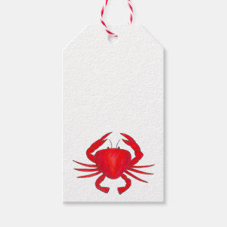Red Crabs Maryland Crab Beach Ocean Gift Tag Pack Of Gift Tags