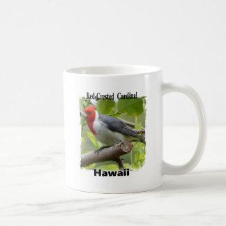 Red-crested Cardinal Coffee Mug