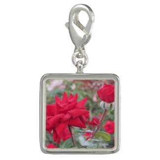 Red Crimson Bouquet Roses Charm