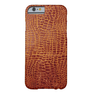 Red Crocodile Barely There iPhone 6 Case