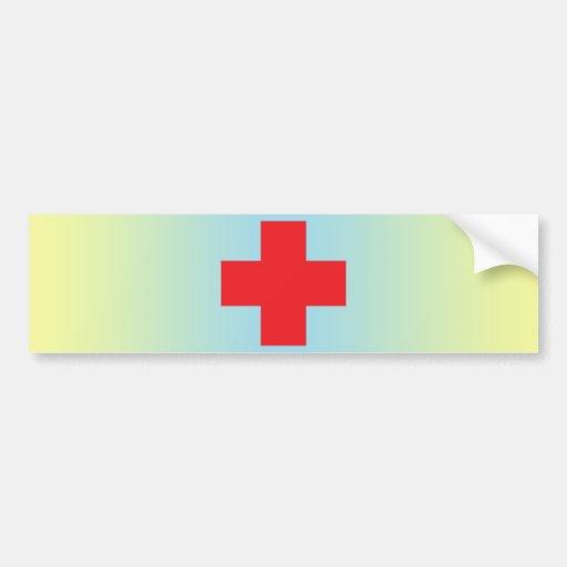 Red Cross Bumper Stickers