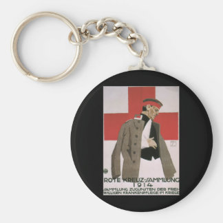 Red Cross Collection_Propaganda Poster Basic Round Button Keychain