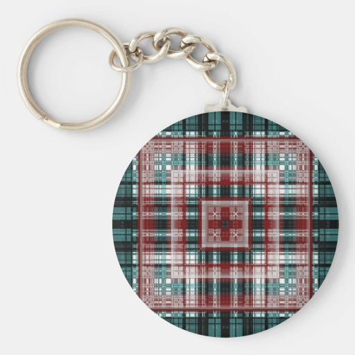 Red cross created by Tutti Key Chain