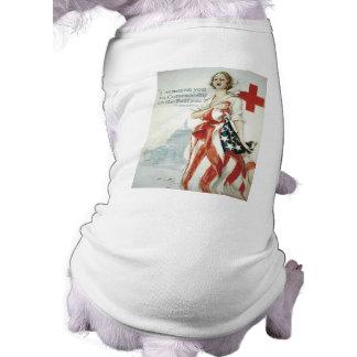 Red Cross Poster - I Summon You Pet Tee Shirt