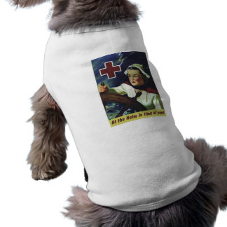Red Cross Poster - Nurse at the Helm Pet Clothing