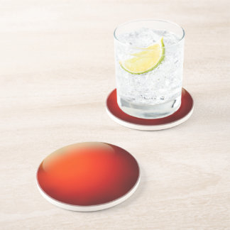 Red Crystal Ball Coaster