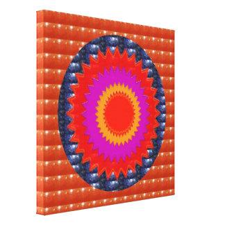 RED CRYSTAL Chakra STARS : TEMPLE WALL ART