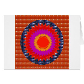 RED Crystal Stone  :ANCIENT Pyramid TEMPLE  WALL Cards