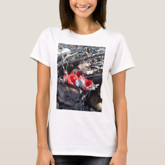 Red Cups and Leaves T-Shirt