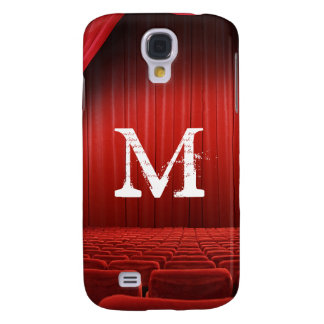 Red Curtain Theater Monogram Samsung Galaxy S4