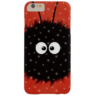 Red Cute Fluffy Dazzled Bug Character Winter Barely There iPhone 6 Plus Case