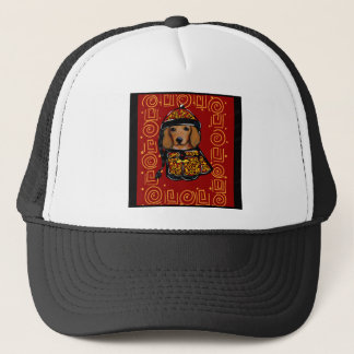 Red Dachshund Dog of the Year Trucker Hat