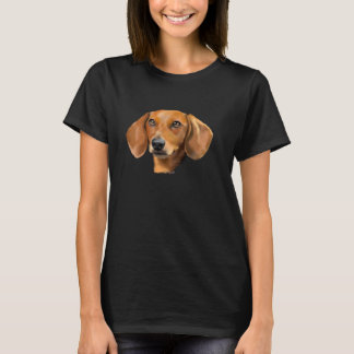 Red Dachshund Dog T-Shirt