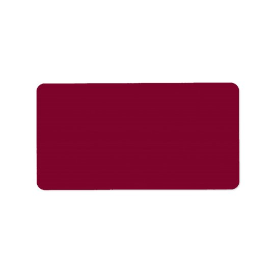 Red Dahlia Brick Maroon Burgundy 2015 Colour Trend Label