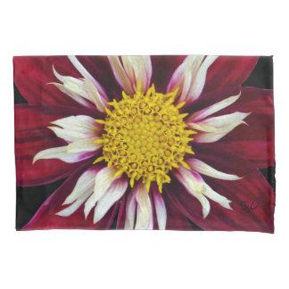 Red Dahlia Pillowcase