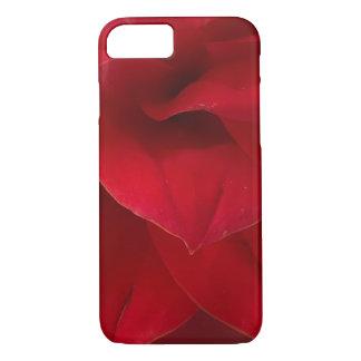 Red Dahlia Soft Petals iPhone 7 Case