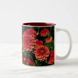 Red Dahlias Mug