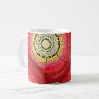Red Daisies Mug