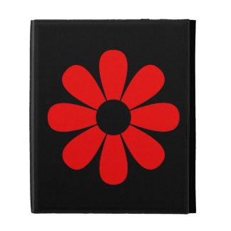 Red Daisy iPad Case