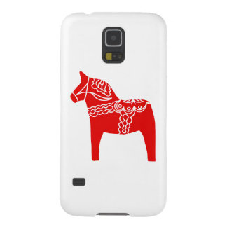 Red Dala Horse Galaxy S5 Covers