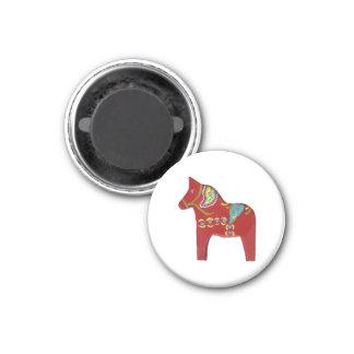 Red Dala magnet