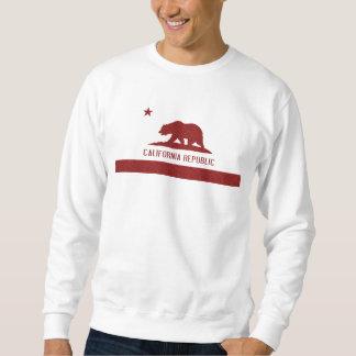 Red Damask California Republic Flag t shirt