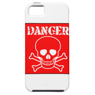 Red Danger Sign Case For The iPhone 5