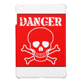 Red Danger Sign Cover For The iPad Mini