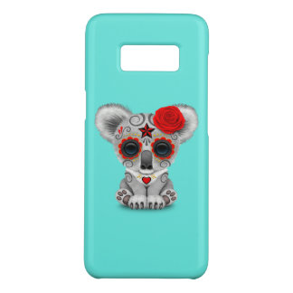 Red Day of the Dead Baby Koala Case-Mate Samsung Galaxy S8 Case