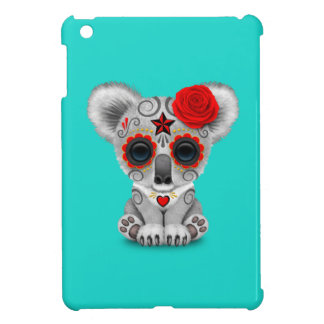 Red Day of the Dead Baby Koala Cover For The iPad Mini
