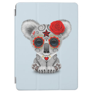 Red Day of the Dead Baby Koala iPad Air Cover