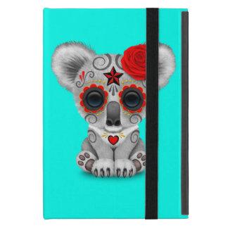 Red Day of the Dead Baby Koala iPad Mini Case