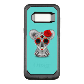Red Day of the Dead Baby Koala OtterBox Commuter Samsung Galaxy S8 Case