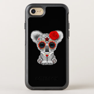 Red Day of the Dead Baby Koala OtterBox Symmetry iPhone 8/7 Case