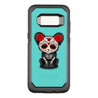 Red Day of the Dead Black Panther Cub OtterBox Commuter Samsung Galaxy S8 Case