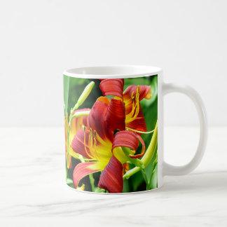 Red Daylilies Mug