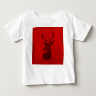 Red Deer Design Baby T-Shirt