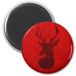 Red Deer Design Magnet