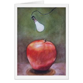 """ RED DELICIOUS "" CARD"