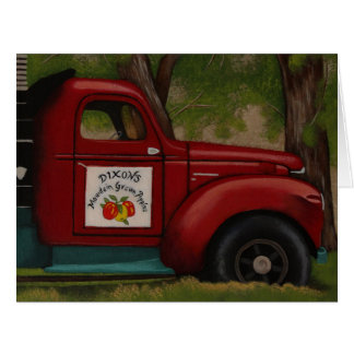 Red Delicious Card