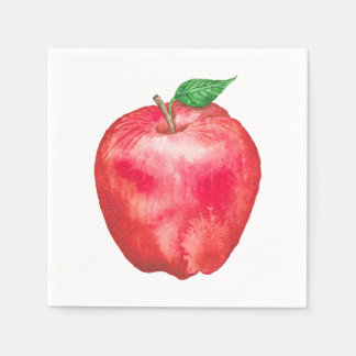 Red Delicious Paper Napkins