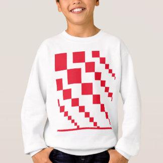 Red Descending Diamonds Sweatshirt