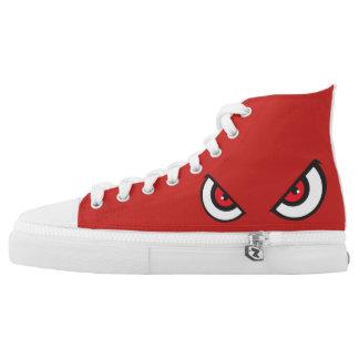 RED DEVIL HI-TOPS ZIPZ