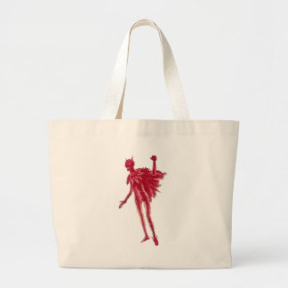 Red Devil Large Tote Bag