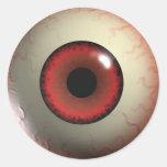 Red Devil's Eye Stickers