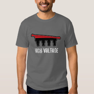 red_di, high voltage t shirt