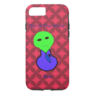 Red Diamond and Alien Boss iPhone 7 Case